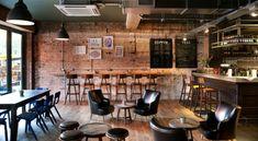 Дизайн баров сети Oakman Inns & Restaurants в Великобритании