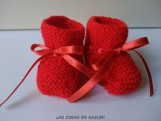 Knitting For Kids, Baby Knitting, Crochet Baby, Knit Crochet, Knit Baby Shoes, Knit Baby Booties, Bella Coco, 2 Baby, Raspberry