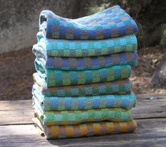 My own handwoven kitchen towels