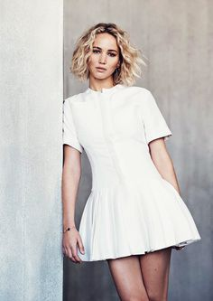 Jennifer Lawrence by Nathaniel Goldberg for Elle Malaysia January 2016 - Dior Resort 2016