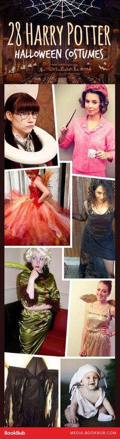 28 creative Harry Potter Halloween costume ideas.