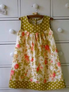 Ideas Sewing Patterns For Baby Clothes Toddler Dress Little Girl Dress Patterns, Toddler Dress Patterns, Little Girl Dresses, Dress Girl, Baby Dresses, Dot Dress, Prom Dresses, Sewing For Kids, Baby Sewing