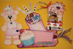 You are my Cuppy Cake........ this is a fun tag set I made and used on my son's birthday main gift...... he loved it!