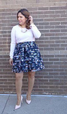 Xhilaration Floral Skater Skirt from @target