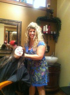 Karina's haircut