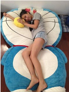 Cheap toy bed, Buy Quality beds only directly from China toy doll bed Suppliers: Big Size My Neighbor Totoro Stuffed Plush Toys Doll Large Cat Animals Soft TV Movie Character Cartoon Tatami Bean Bag Fi