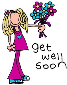 172 Delightful Clipart Get Well Images Get Well Clip Art Drawings