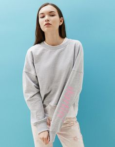 Women's Sweatshirts & Hoodies for Spring Summer 2017 | Bershka ...
