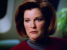 Captain Janeway, Kate Mulgrew, Star Trek Voyager, Her Smile, Led Zeppelin, Beautiful Women, Actresses, Actors, Nostalgia