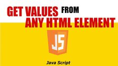 JAVASCRIPT GET DROPDOWN SELECTED TEXT VALUES Science And Technology, Web Development, Programming, Script, The Selection, Bar Chart, Texts, Videos, Youtube
