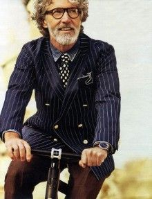 Does older = no style sense?  No.  Looking good
