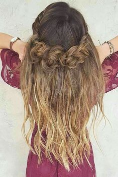 Braided Hairstyles For Long Hair Extraordinary 39 Braided Wedding Hair Ideas You Will Love  Pinterest  Braided