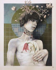 #illustration by Ceren Aksungur #popsurreal #lowbrow #darkart