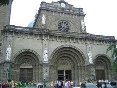 Manila Cathedral Entrance