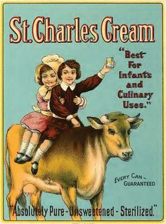 FOOD: Cream, right out of the can for kids or use it to cook.1910