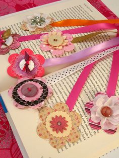 Cute Bookmarks by Rina A.W, via Flickr