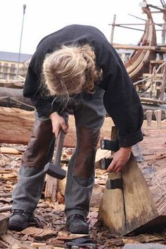 The Oseberg Viking Ship is an incredible survival and this is the story of building a complete new replica using traditional viking ship building crafts.