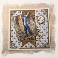 Bibbi's: Konfirmantkort Marianne Design, Fathers Day Cards, Cards For Friends, Masculine Cards, Western Cowboy, Birthday Cards, Crafts, Handmade, Scrapbooking