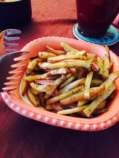 Home-made french fries made in Paris