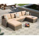 Hampton 6-piece Deep Seating Sectional by Sirio™