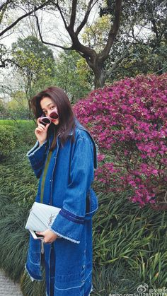 Chinese Fashion, Chinese Style, Luhan, Guan Xiao Tong, Chinese Actress, Korean Celebrities, Gabriel, Street Styles, Idol