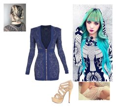 """""""Going to visit a friend c; ~Kaster"""" by xxanimexloverxx ❤ liked on Polyvore featuring Balmain"""