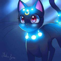 Luna fan art by;Jack-a-Lynn.