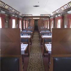 ancien wagon-restaurant de l'Orient Express