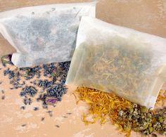Cool idea Bath Tea Bags...from the Soap Queen