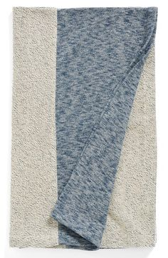 Nordstrom at Home French Terry Throw - Blue