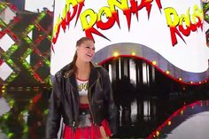 """Ronda went all out with her Roddy Piper tribute at WrestleMania: From the """"Hot Rod"""" shirt to the """"Rowdy"""" nickname, Ronda Rousey wears his… True Love Stories, Love Story, Ronda Rosey, Grant Gustin Glee, Roddy Piper, Wwe Stuff, Ufc, Hot Rods, Beautiful Women"""