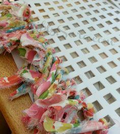 Rag Rug #DIY #Waverize - sensiblysara.com