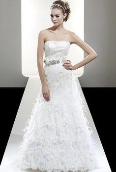 Brides: Saison Blanche Couture #wedding #WeddingDresses