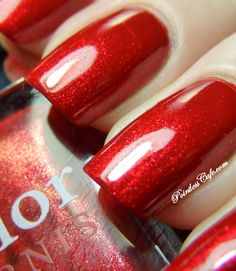 Nail of the Day: Dior Red Queen Satin # 842 | Pointless Cafe