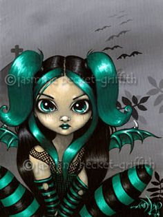 Gothic Fairy Art : Gothling #5 Jasmine Beckett-Griffith