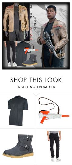 """""""Star Wars Finn Costume"""" by fjackets ❤ liked on Polyvore"""