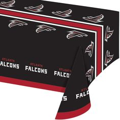 NFL 54 x 102 Plastic Tablecover All Over Print Atlanta Falcons/Case of 12 Tags: Atlanta Falcons; Tablecover; NFL Tableware; Atlanta Falcons party;Atlanta Falcons party tableware;Atlanta Falcons Tablecover; https://www.ktsupply.com/products/32786326532/NFL-54-x-102-Plastic-Tablecover-All-Over-Print-Atlanta-FalconsCase-of-12.html