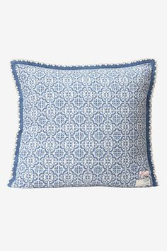 Odd Molly Home Kuddfodral Lovely Knit i bomull - Blå - Hem & inredning - Ellos.se