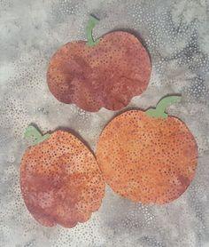 Pumpkins, Laser Cut, Set of three