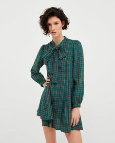 Image 2 of CHECKED DRESS from Zara