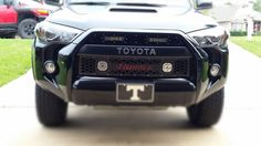 2014-2016 LED grille inserts. Choose your letters and trim at www.Pure4Runner.com
