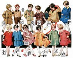 Children in the 1920s