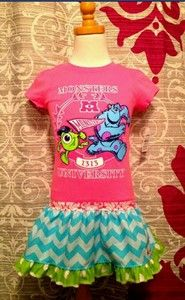Monsters University Upcycle Dress
