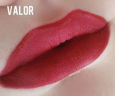 """""""A stunning true classic red & it wears incredibly good too. The formula is creamy & feels very lightweight on the lips, dries matte & lush looking!"""" - @specktranet.   #Lipgrips #SuavecitaLipgrips #SuavecitaValor #Valorlipstick #Redlipstick #Red #Liquidlipstick #Lips #Makeup #Cosmetics #Suavecitabeauty #Beauty"""