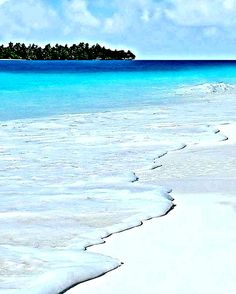 White beach Maldives
