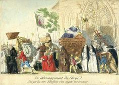 ⌛️ 2 novembre 1789 : Les biens du clergé sont mis à la disposition de la Nation pour combler le déficit budgétaire.