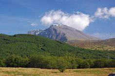View of Ben Nevis, the highest mountain in the UK - Grampian Mountains,Scotland