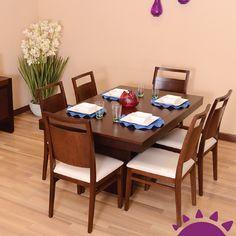 Un lugar de importancia y de bienestar, donde se comparte momentos familiares, con amigos o en soledad, es el comedor.►http://ow.ly/LC0xJ