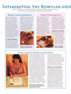 Interpreting the kumulak grid