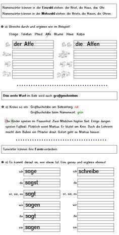 Rotkäppchen - Sätze und Bilder | Német | Pinterest | Deutsch ...